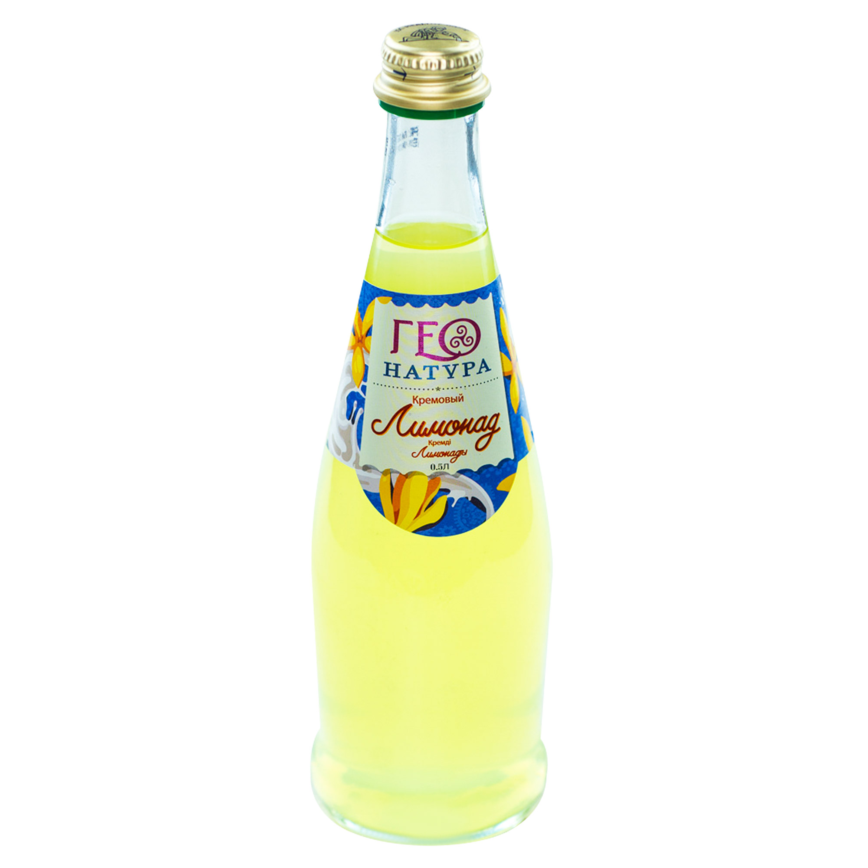Лимонад Geo Natura кремовый 0,5 л