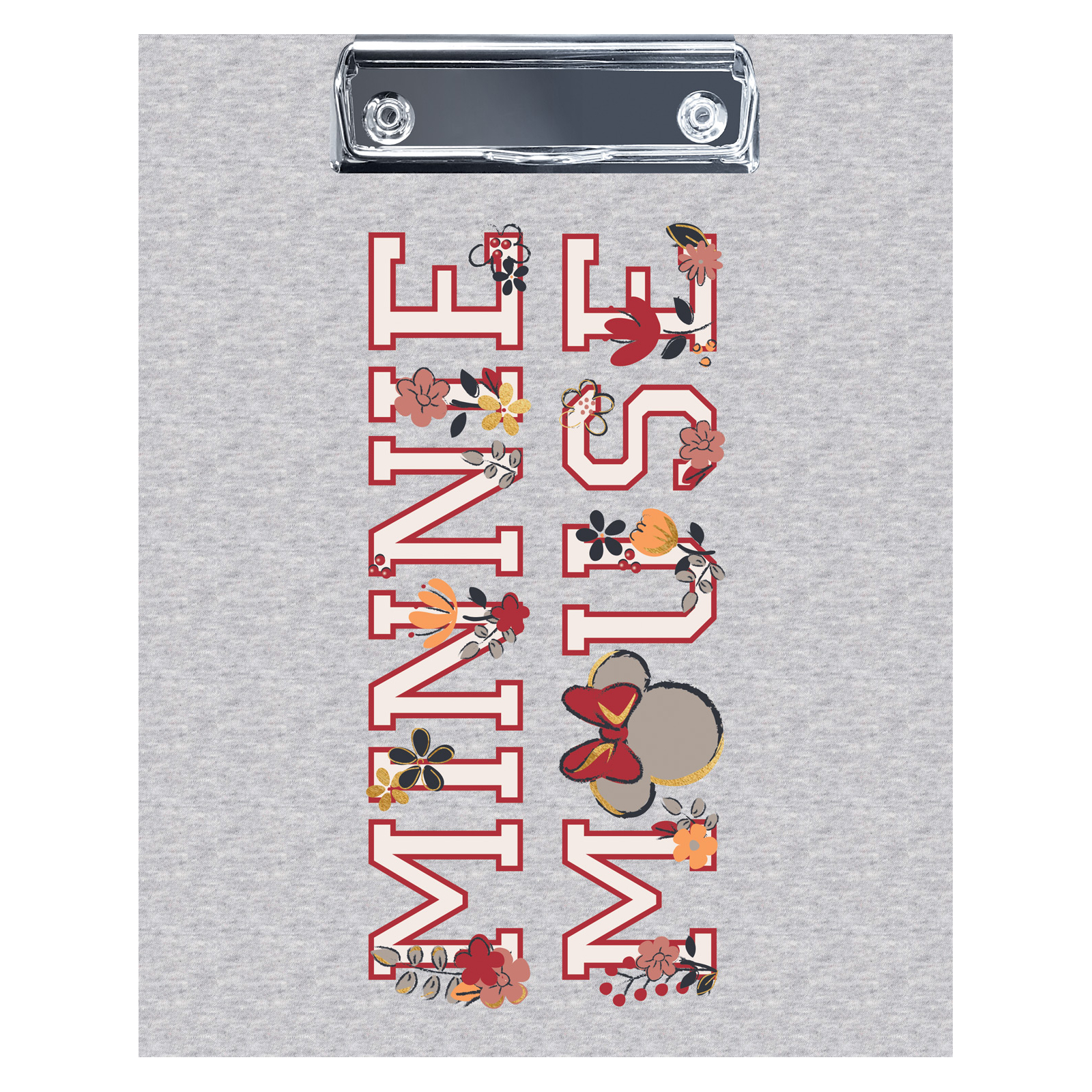 Папка-планшет Hatber Минни Маус А5 с металлическим зажимом