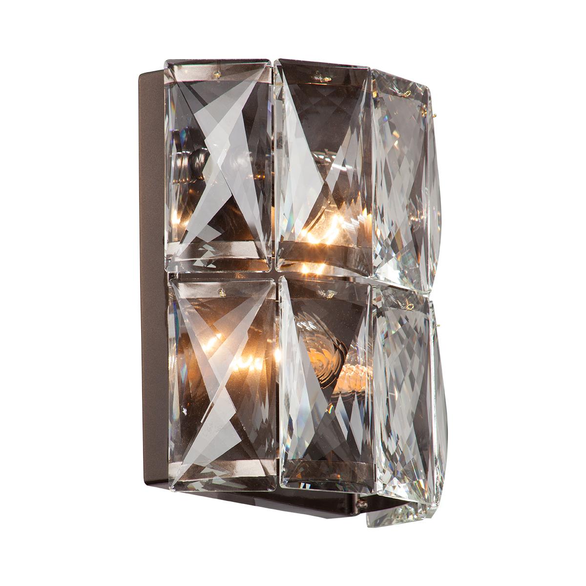 Светильник настенный Vitaluce V5845-7/2A, 2хЕ14 макс. 40Вт настенный светильник vitaluce v6000 2a