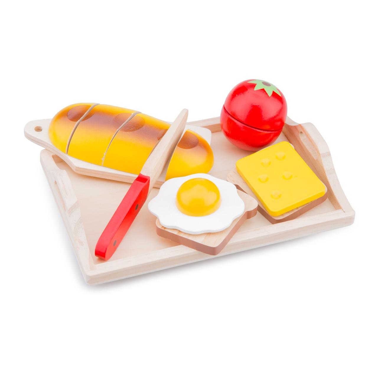 Набор продуктов New Classic Toys Завтрак на подносе 10582