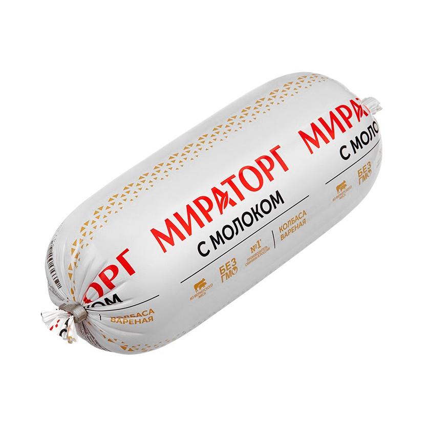 Колбаса Мираторг с молоком вареная 470 г колбаса дымов дмитровская вареная