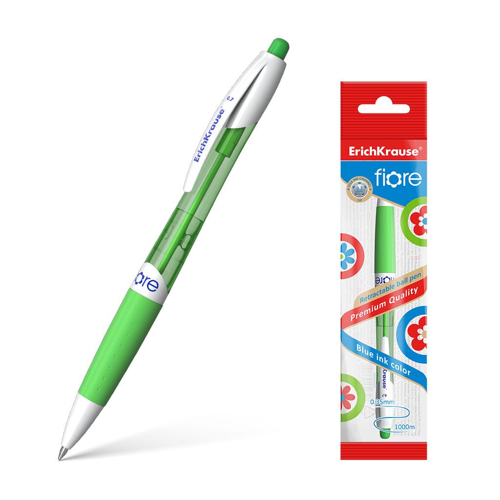 Ручка шариковая автоматическая Erich Krause Fiore синий erich maletzke adam olearius