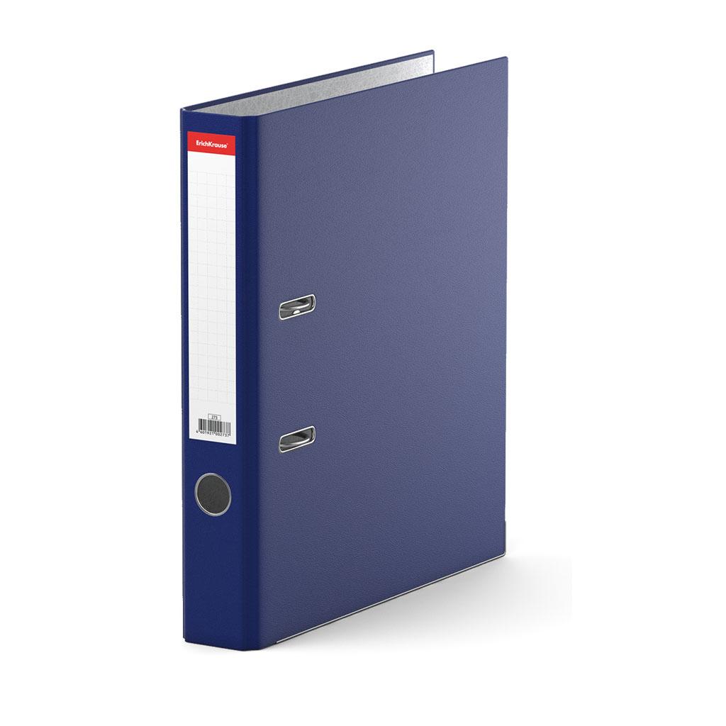 Фото - Папка–регистратор с арочным механизмом Erich Krause, Standard, А4, 50 мм, синий клей канцелярский erich krause standard 40 мл