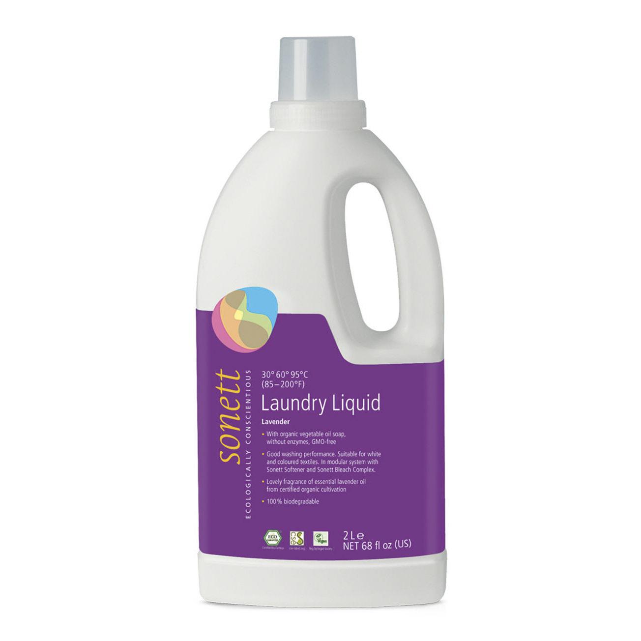 Средство Sonett жидкое для стирки экологические чистое органическое Лаванда 2 л недорого