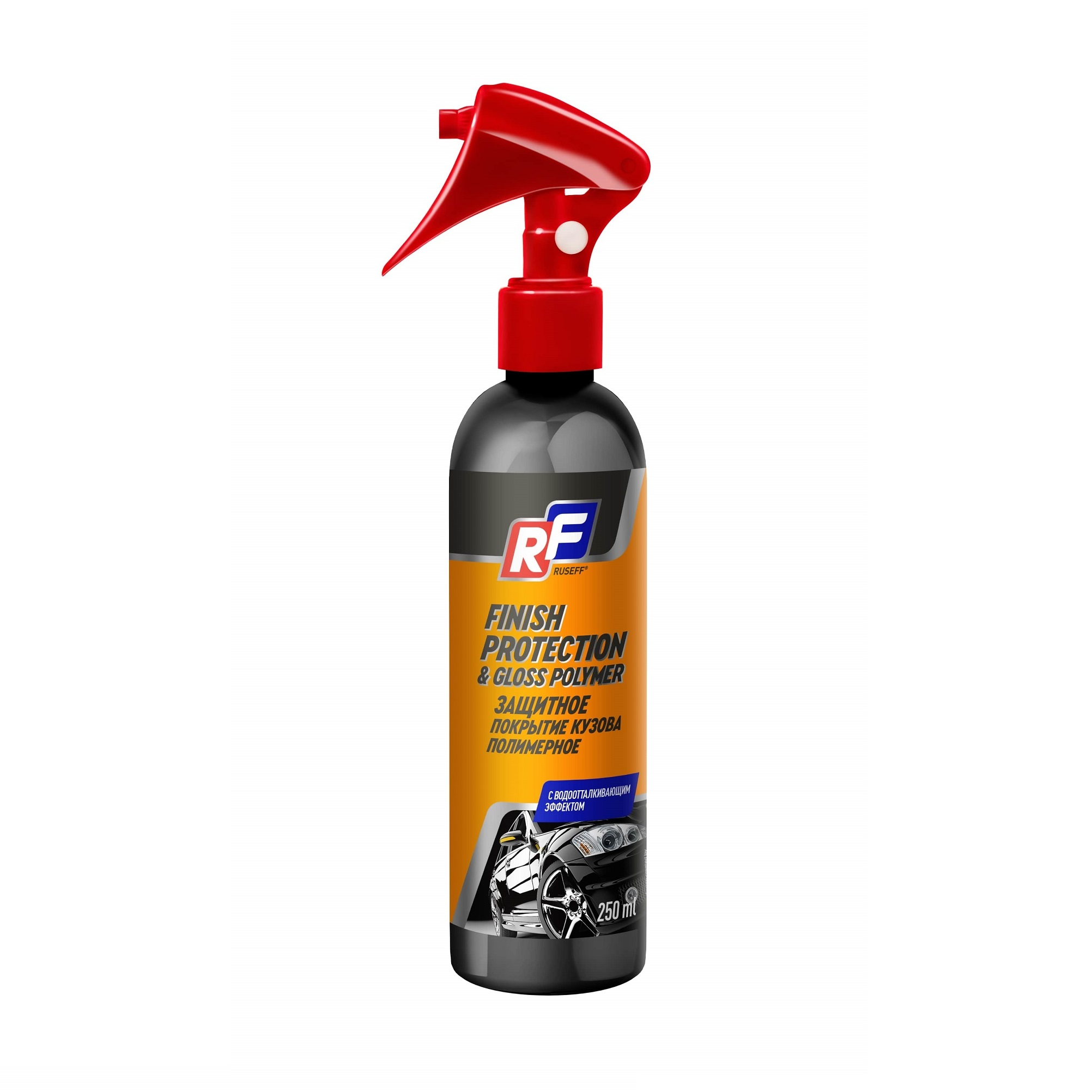 Защитное покрытие кузова полимерное Ruseff 0,25 л фото