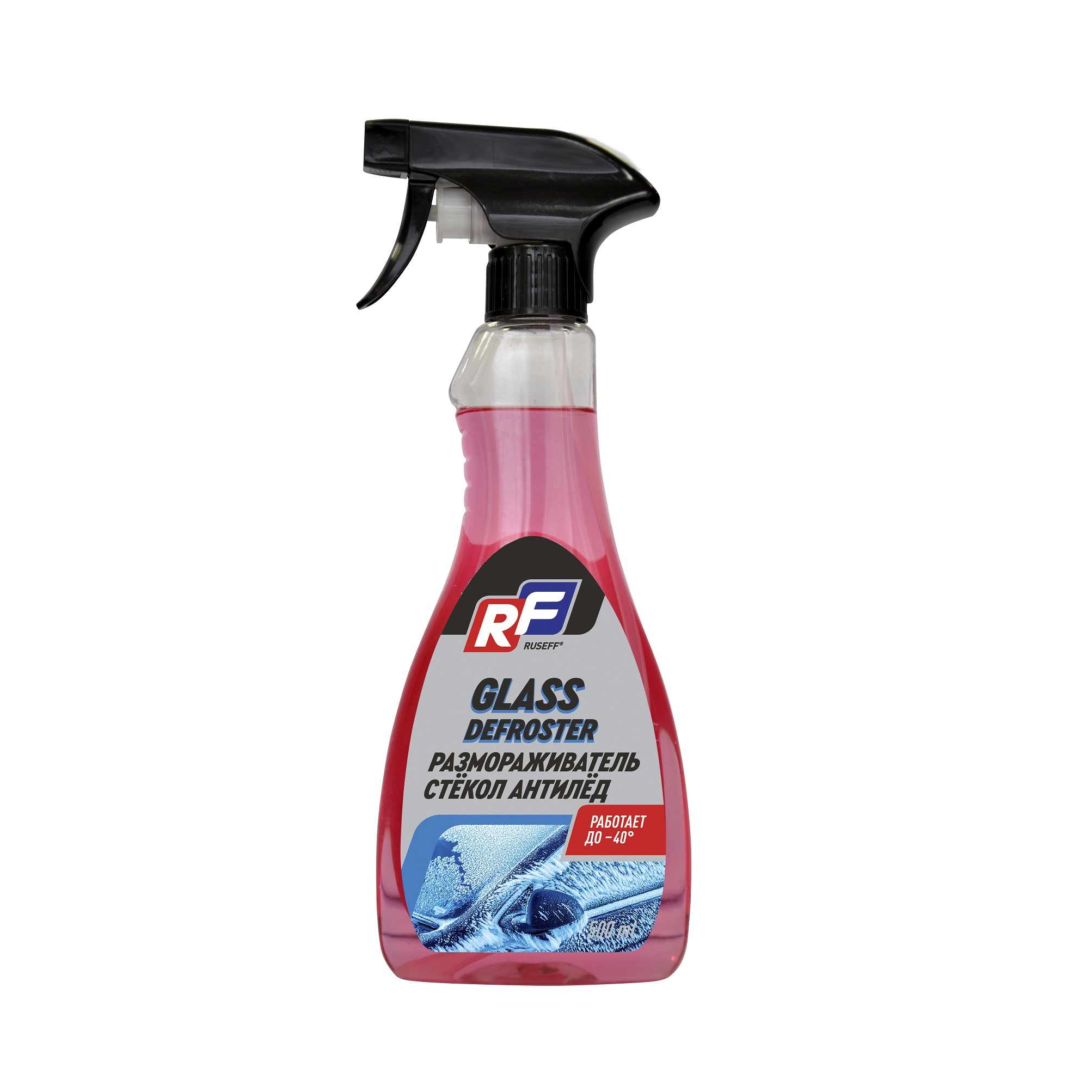 Размораживатель стекол антилед Ruseff 0,5 л