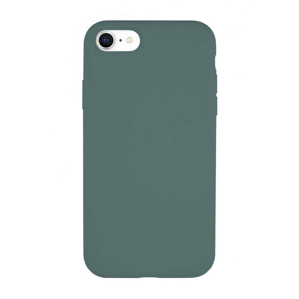 Чехол VLP для Apple iPhone SE (2020), темно-зеленый фото