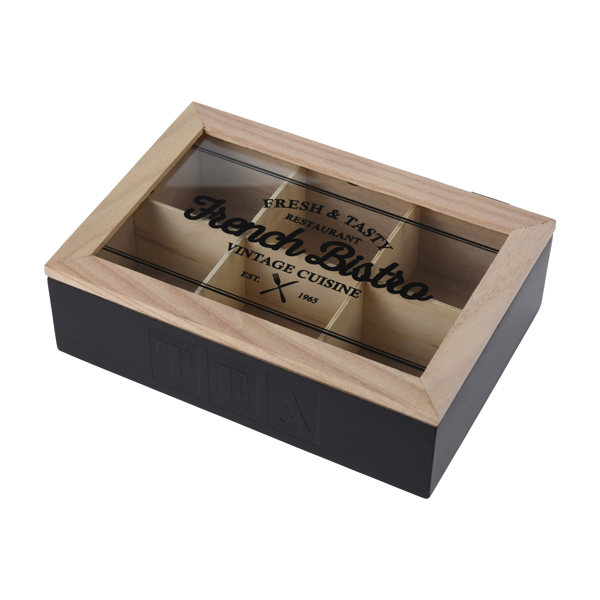 Фото - Коробка для чайных пакетиков Koopman 24x16,8x7 см подставка для чайных пакетиков