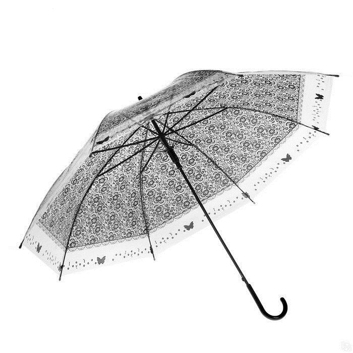 Зонт-трость Sima Land Кружево полуавтомат