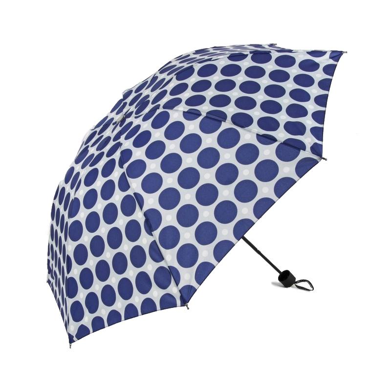 Зонт механический Sima Land Горох крупный 3 сложения