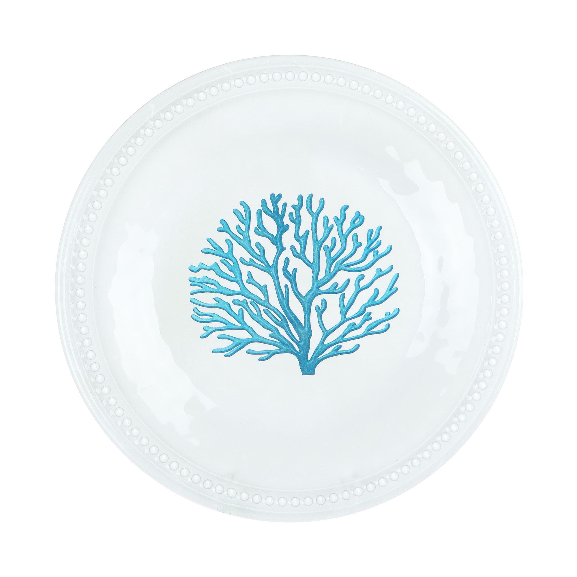Набор десертных тарелок Marine Business Mare Blue 21,5 см 6 шт