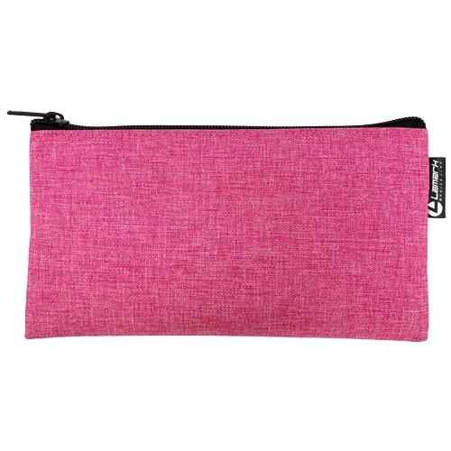 Косметичка Lamark на молнии 210х110 мм Лён розовый