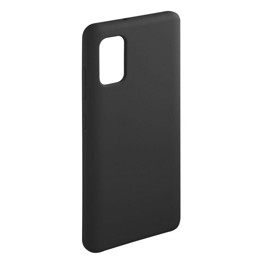 Чехол для смартфона Deppa Liquid Silicone для Samsung Galaxy A41 (2020), чёрный фото