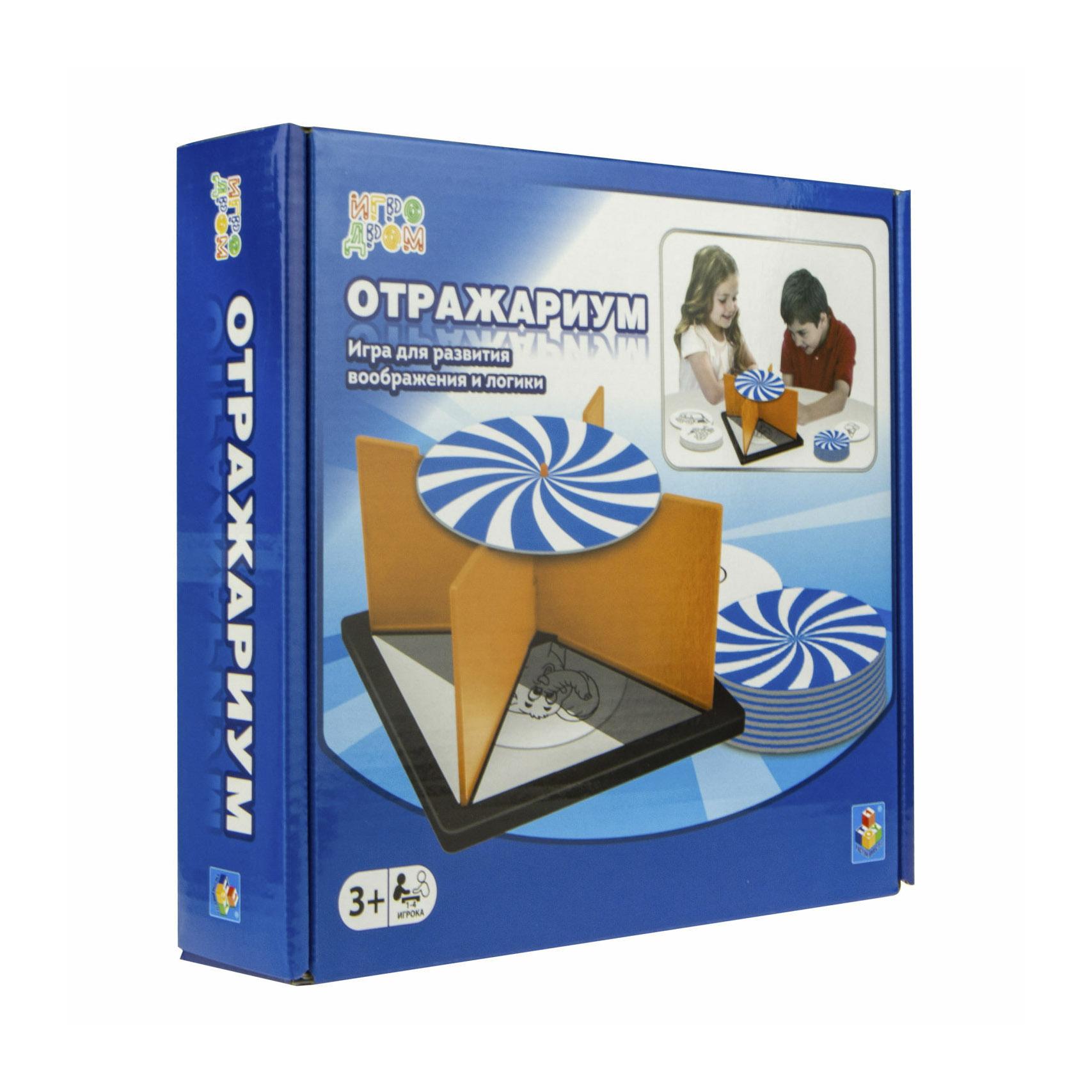 Фото - Настольная игра 1Toy Игродром. Отражариум настольная игра 1 toy игродром логические опыты
