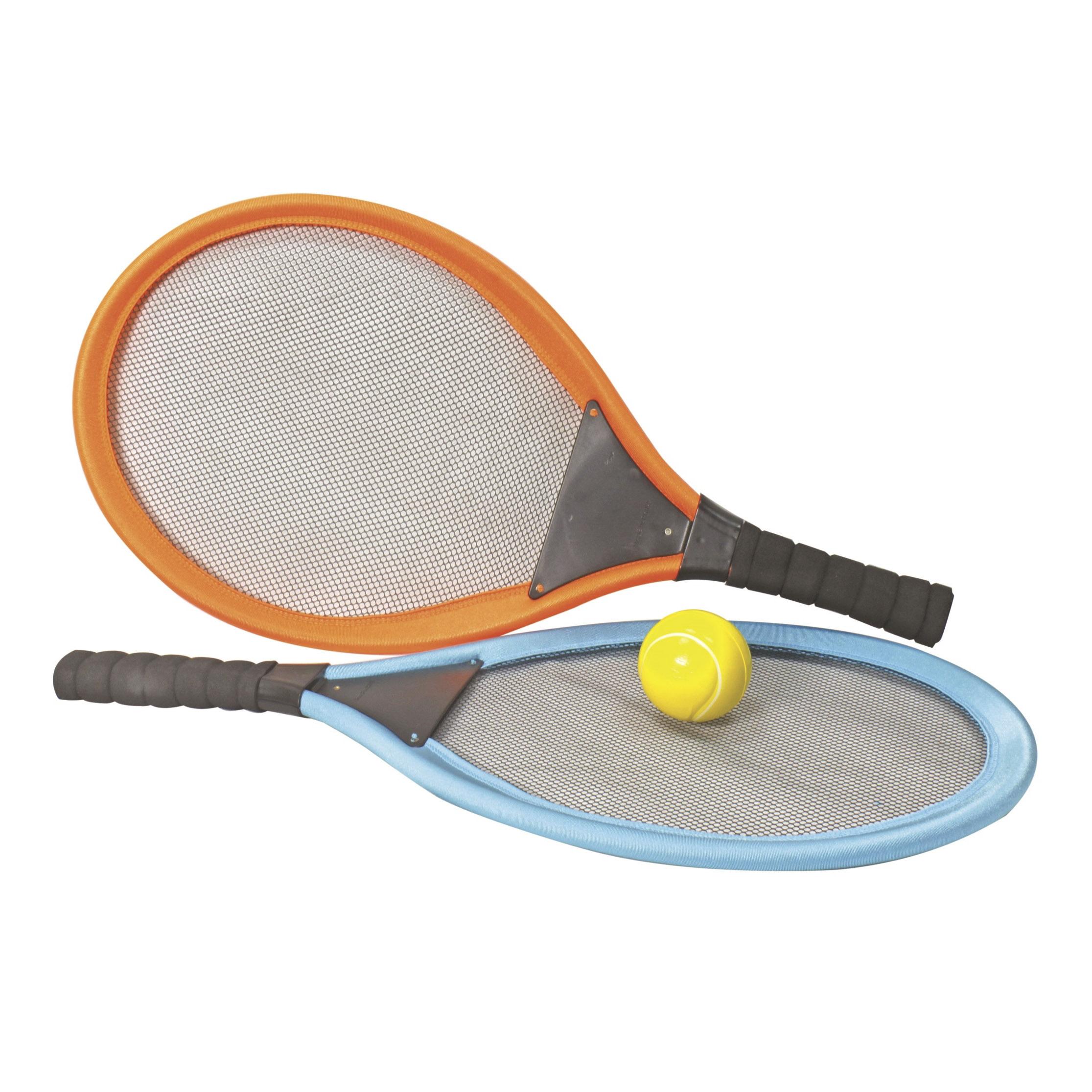 Набор для тенисса 1Toy ракетки и мячик 25x74 см