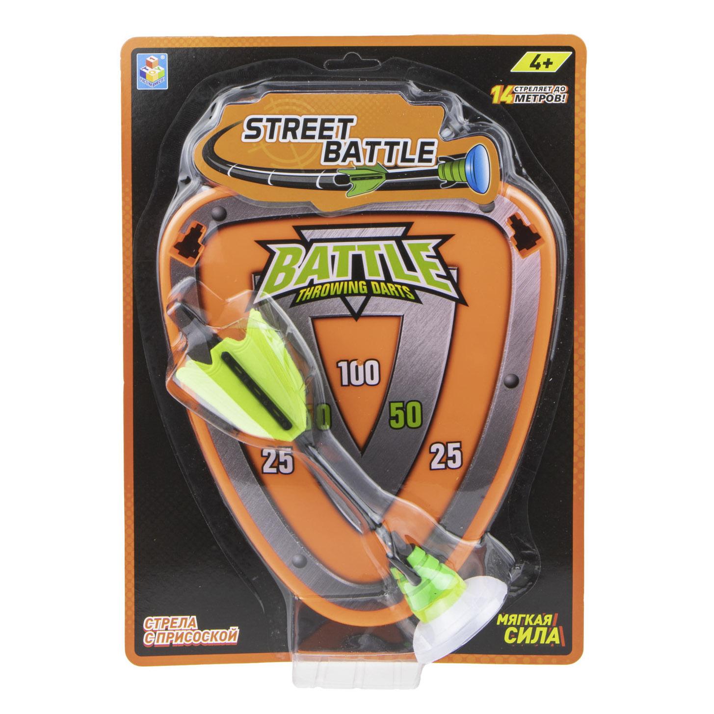 Игровой набор 1Toy Street Battle