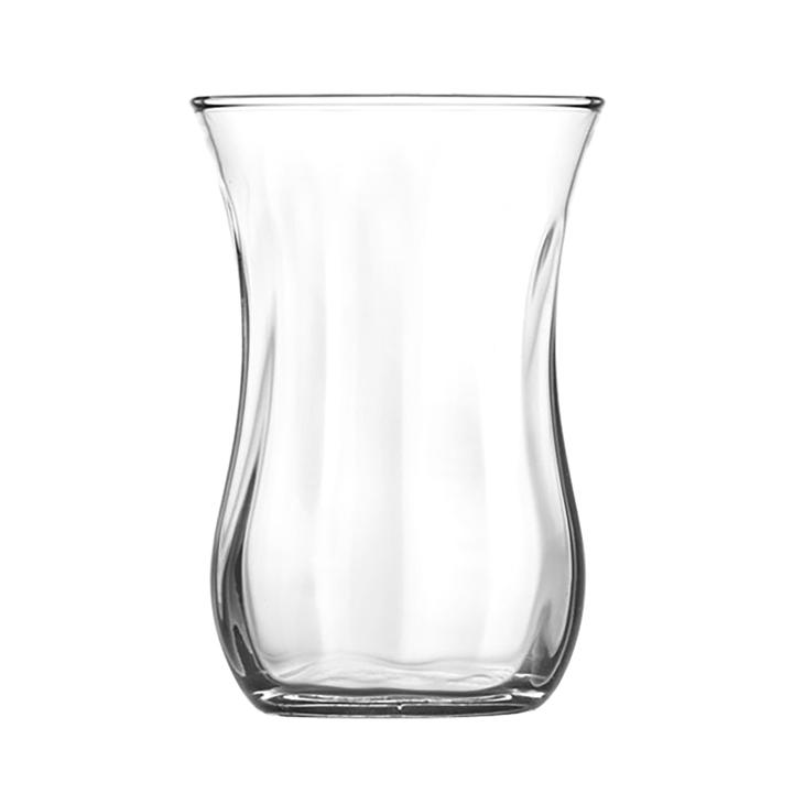 Стакан для чая стеклянный Pasabahce Optic 120 мл