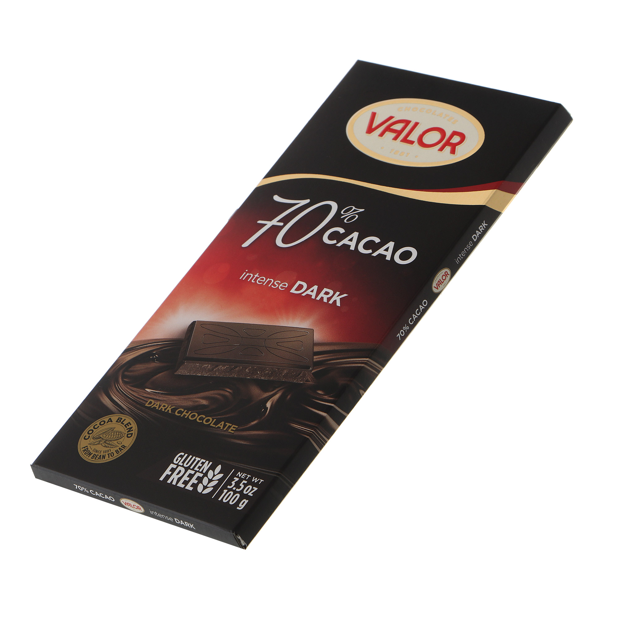 Шоколад темный Valor 70% 100 г недорого