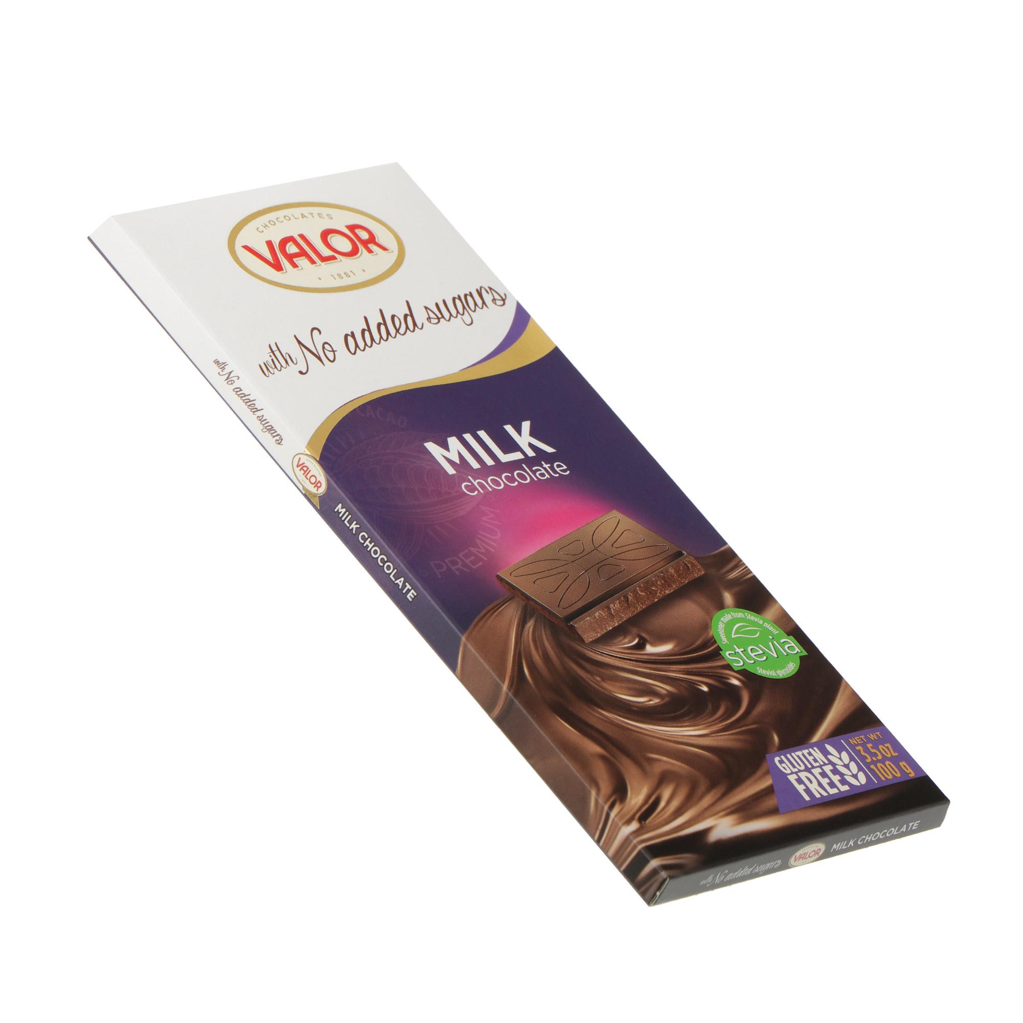 Шоколад молочный Valor 100 г недорого