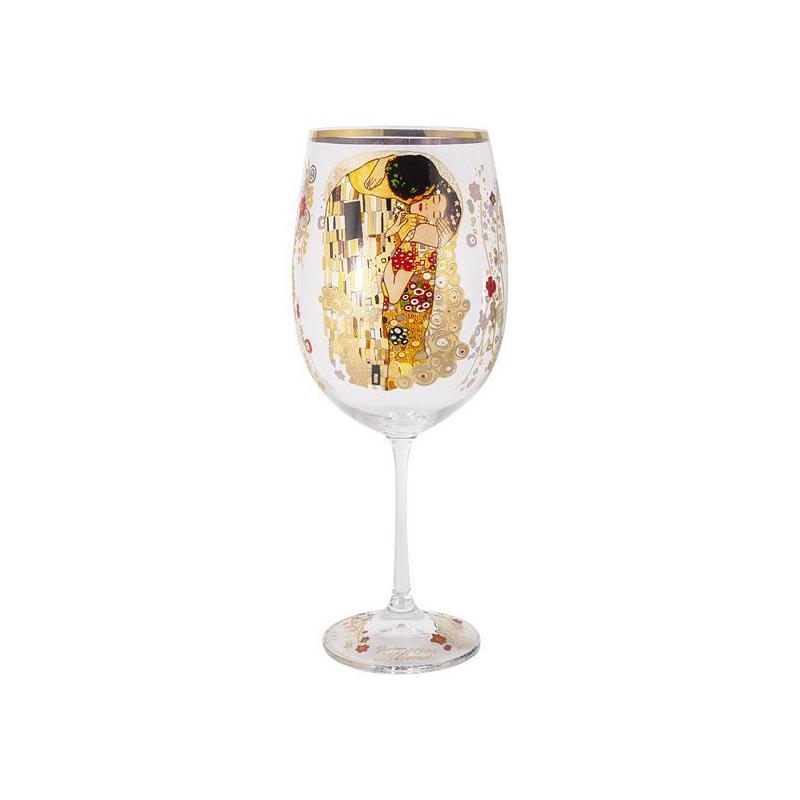 Бокал для вина Carmani Поцелуй 640 мл фото