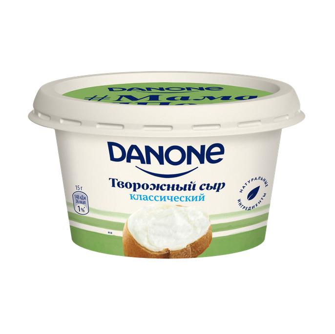 Сыр творожный Danone Классический 60% 140 г