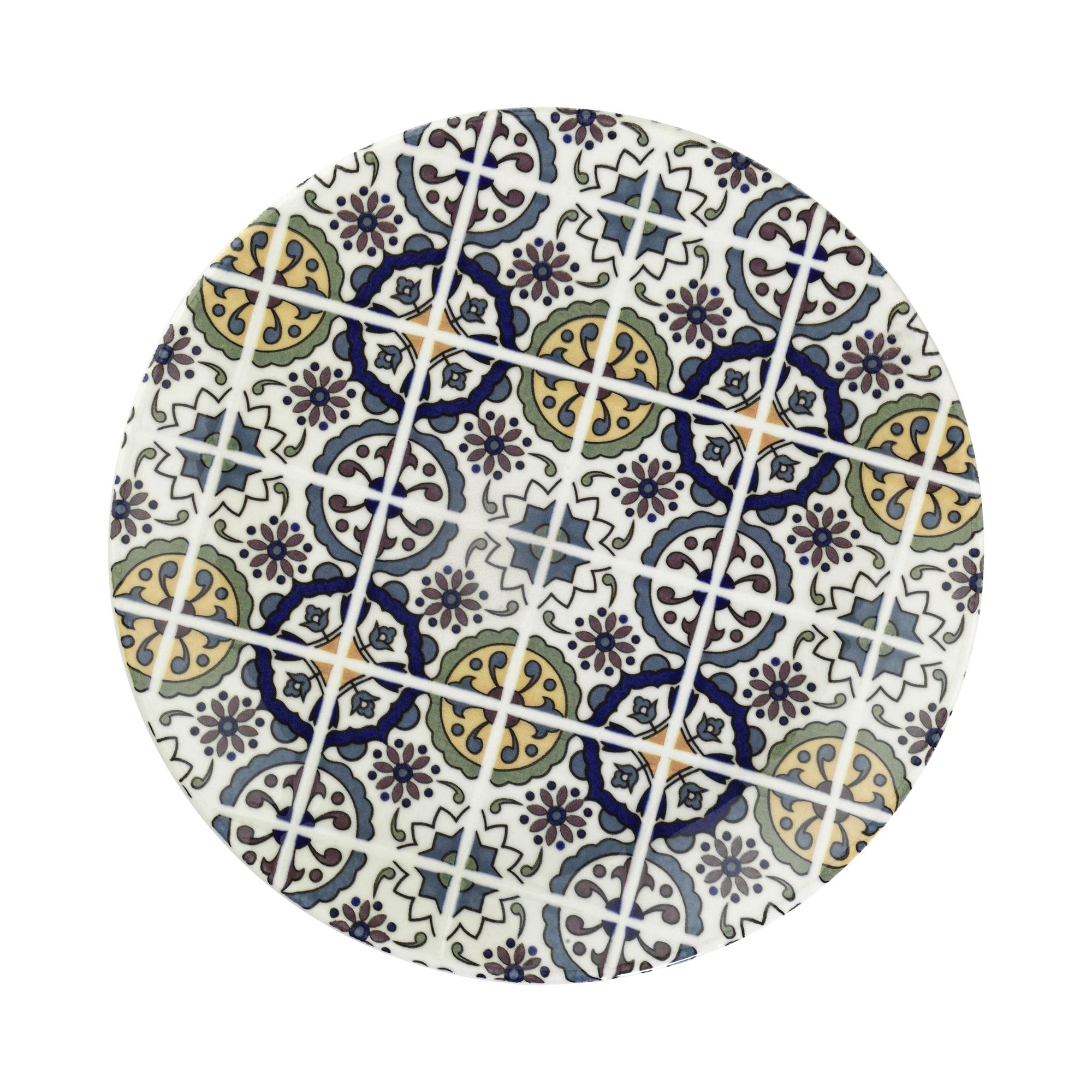 Тарелка мелкая Kutahya porselen Harlek керамика 20 см фото