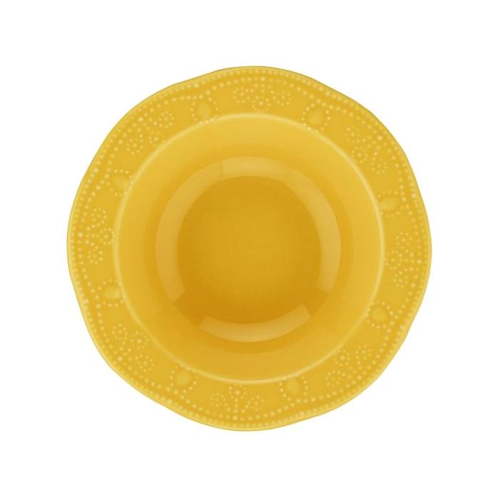 Салатник Kutahya porselen Fulya желтый 17 см boulanger салатник стеклянный 25 см желтый