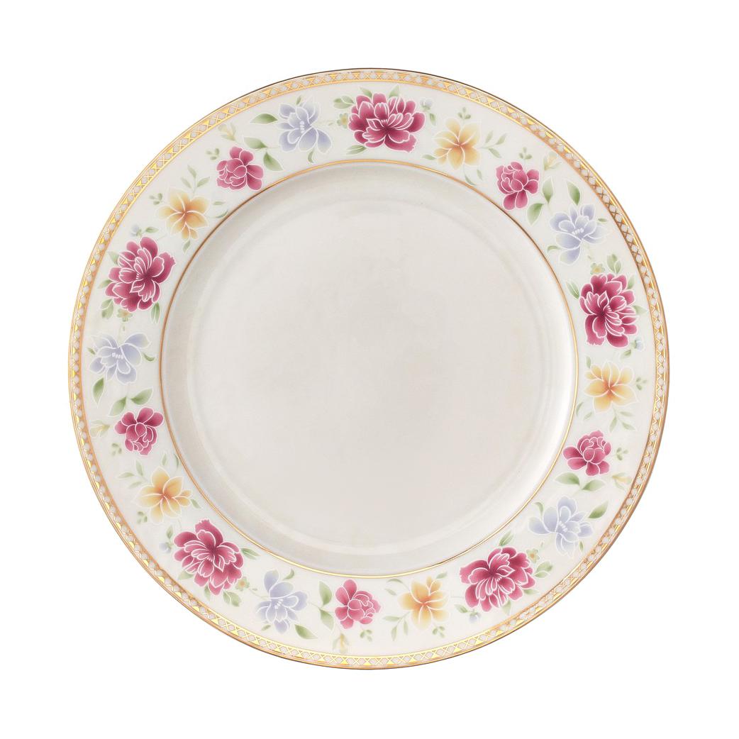 Тарелка обеденная Kutahya porselen Kalipso 25 см декор 25136 фото