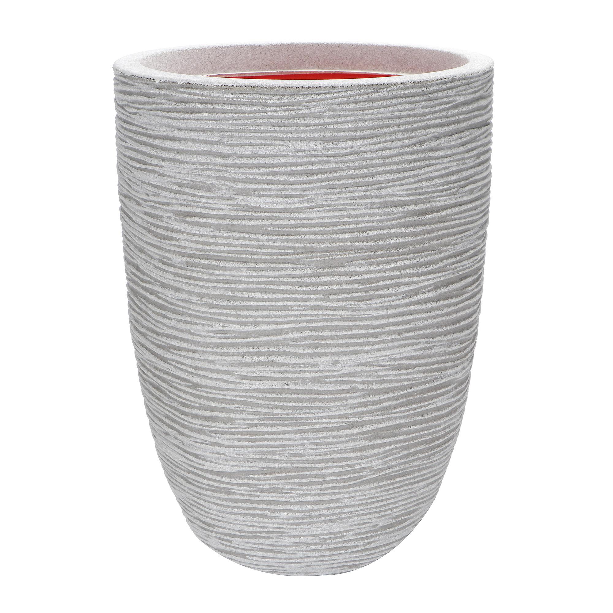 Кашпо Capi Tutch Vase Elegant слоновая кость 36х47 см