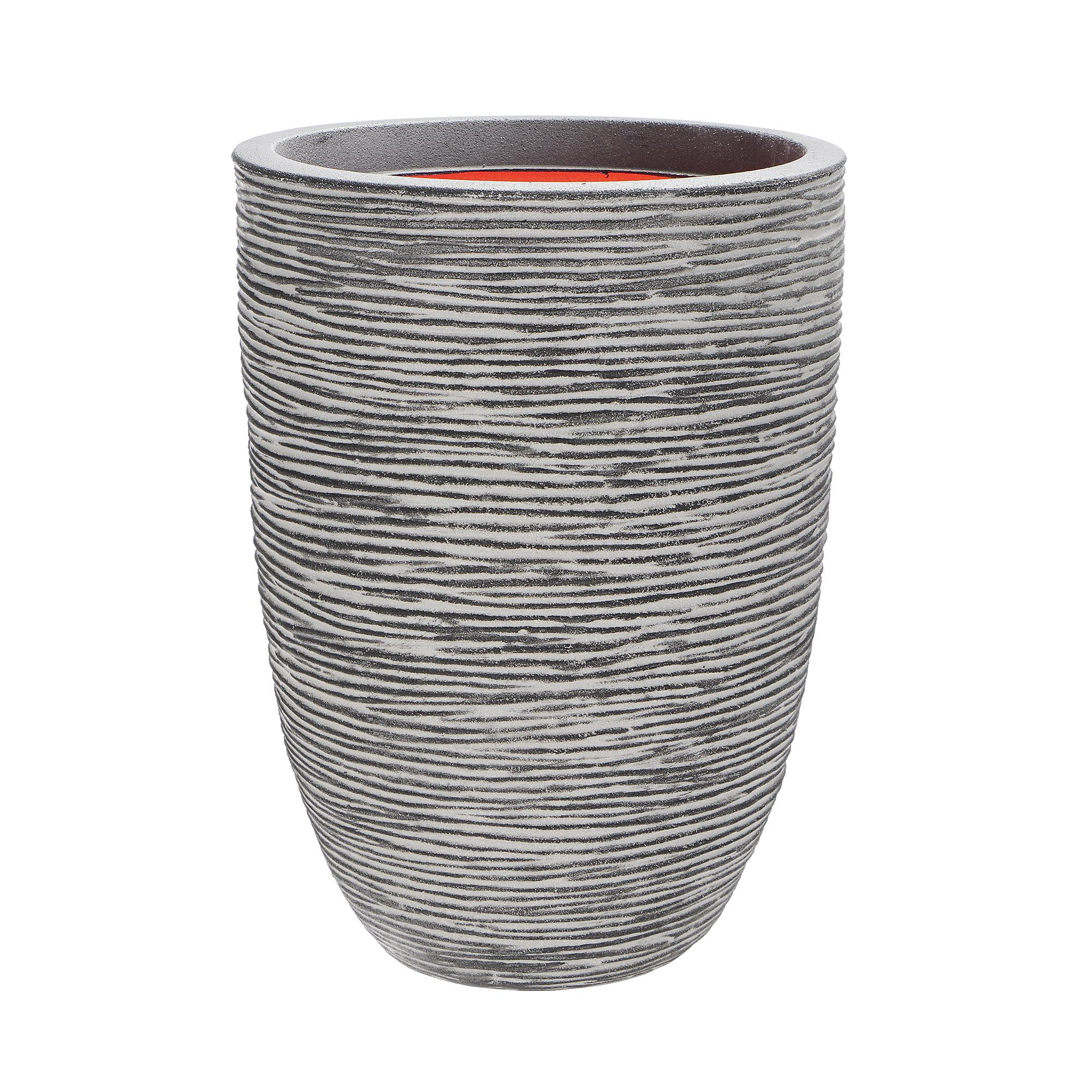 Кашпо Capi Tutch Vase Elegant антрацит 36х47 см