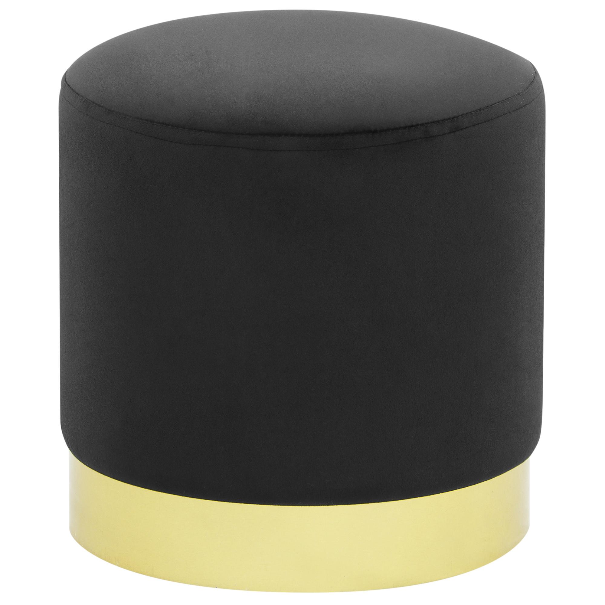 Пуфик Foreign trade Фибби черный 31,5x31,5x33 см