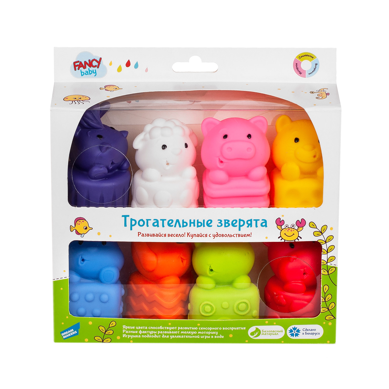 Развивающая игрушка Fancy Baby Трогательные зверята