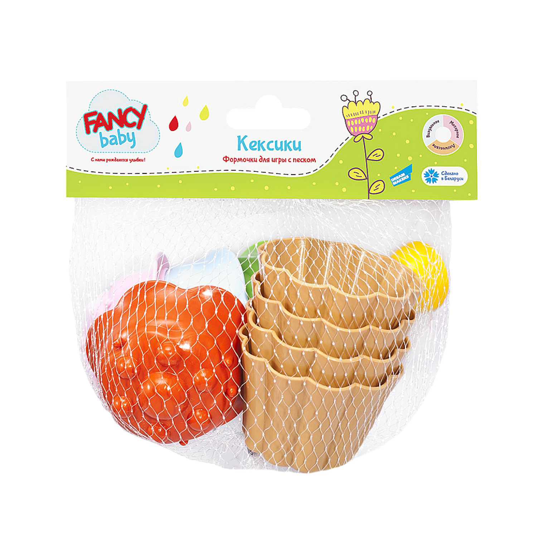 Песочный набор Fancy Baby Кексы KEKS4