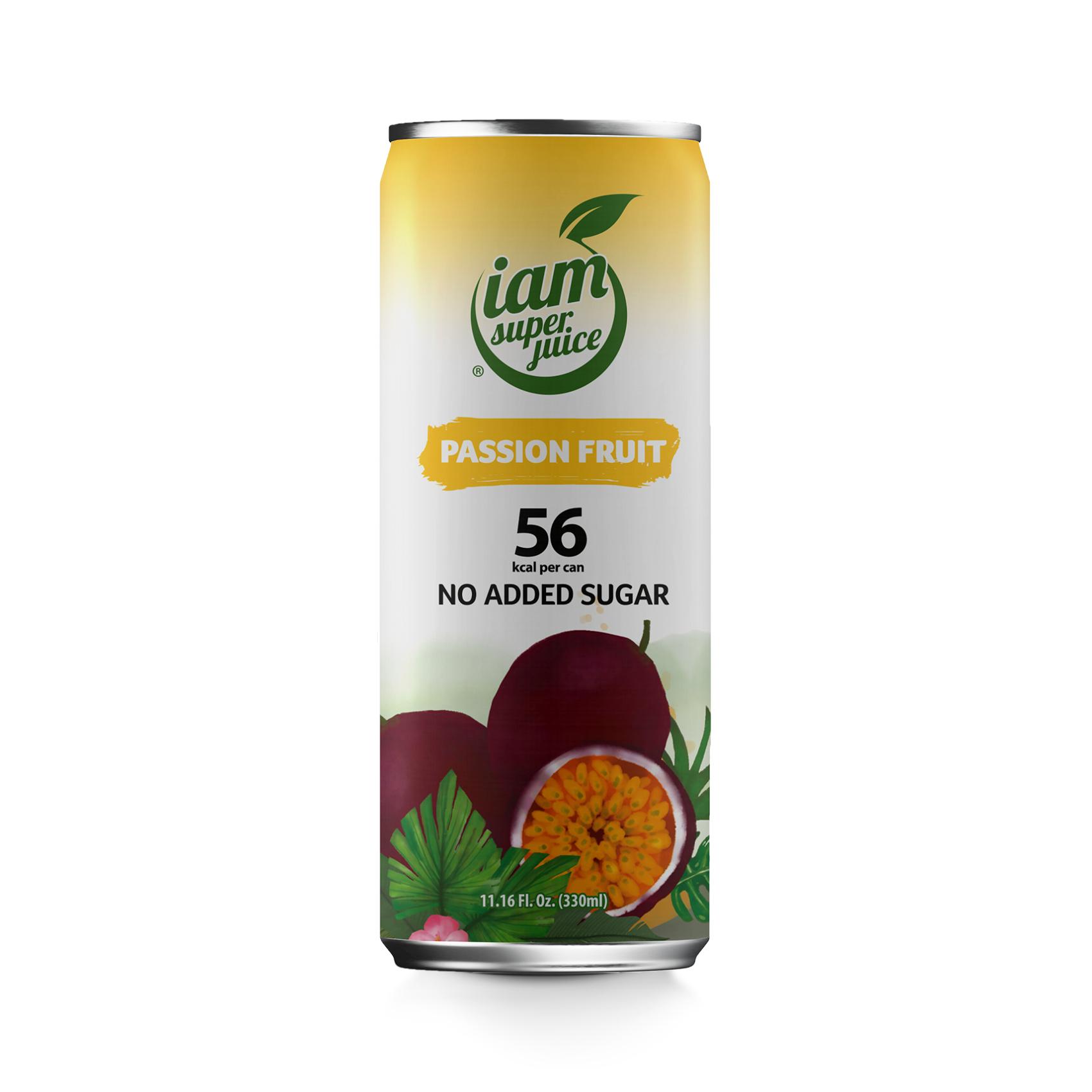 Сок маракуйя I am super juice 0,33 л