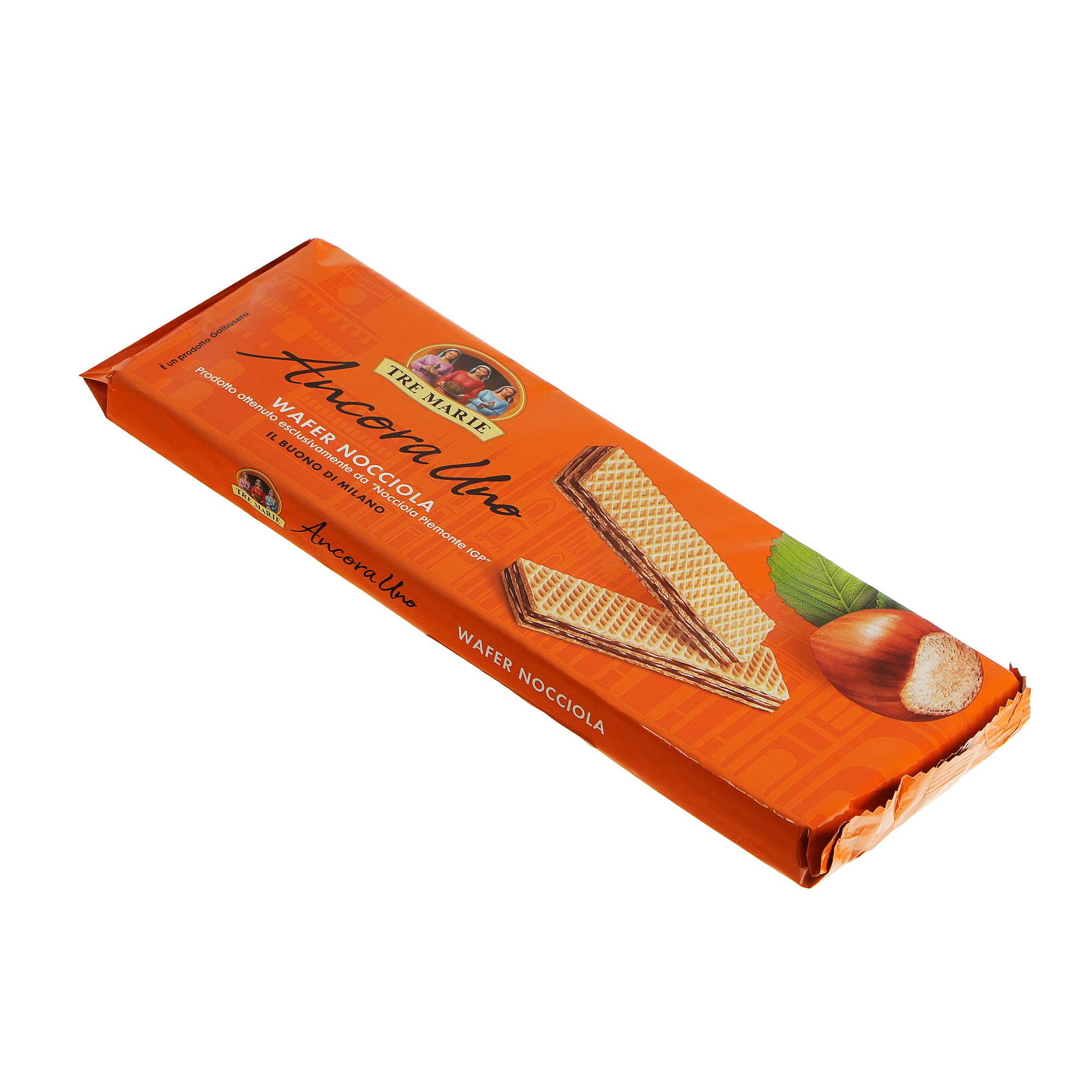 Фото - Вафли Galbusera Tre Marie ореховый крем 175 г пуховик tre api размер 175 красный