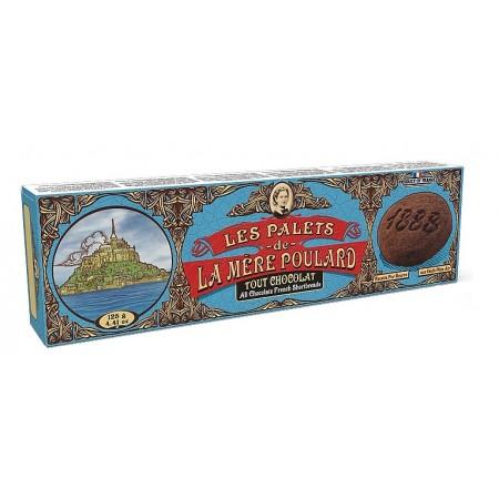 Печенье La Mere Poulard 1888 коллекционное шоколад 125 g фото