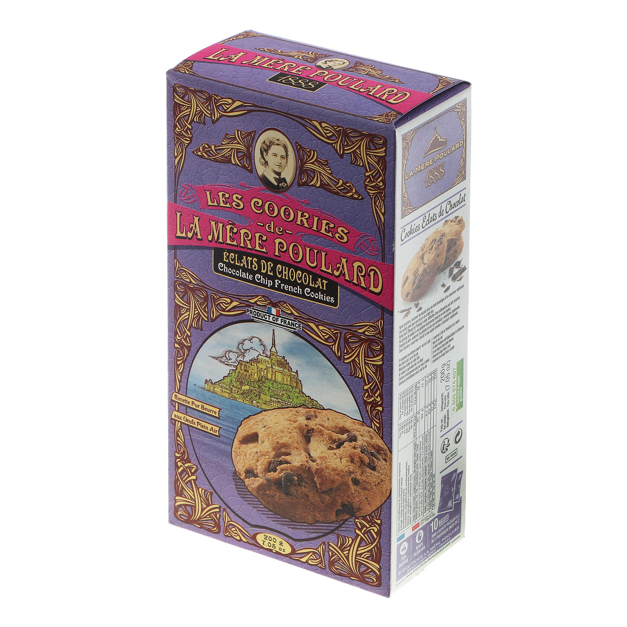 Печенье La Mere Poulard шоколадное 200 g