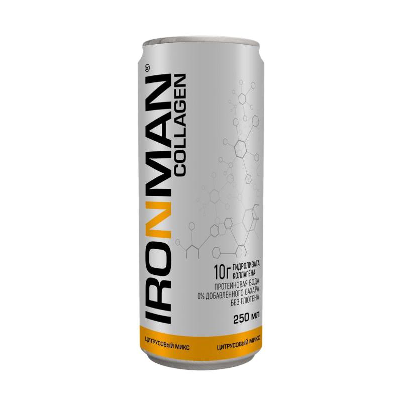 Напиток Ironman Collagen цитрусовый микс 250 мл