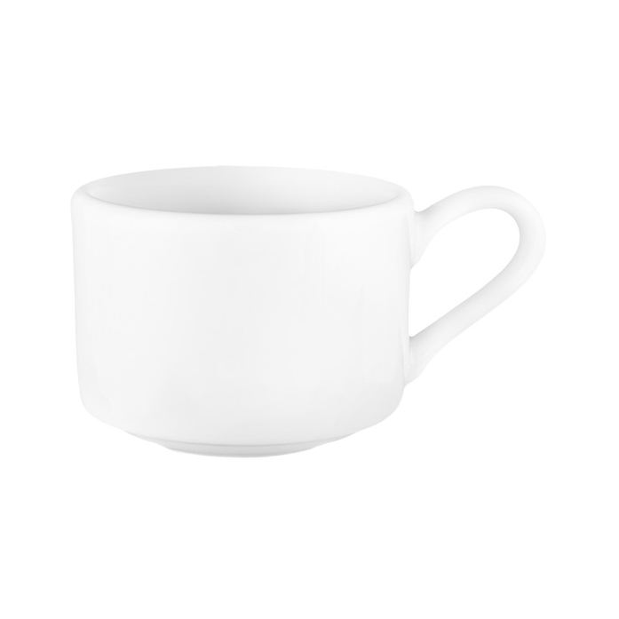 Чашка кофейная stackable Башкирский фарфор Практик 165 мл