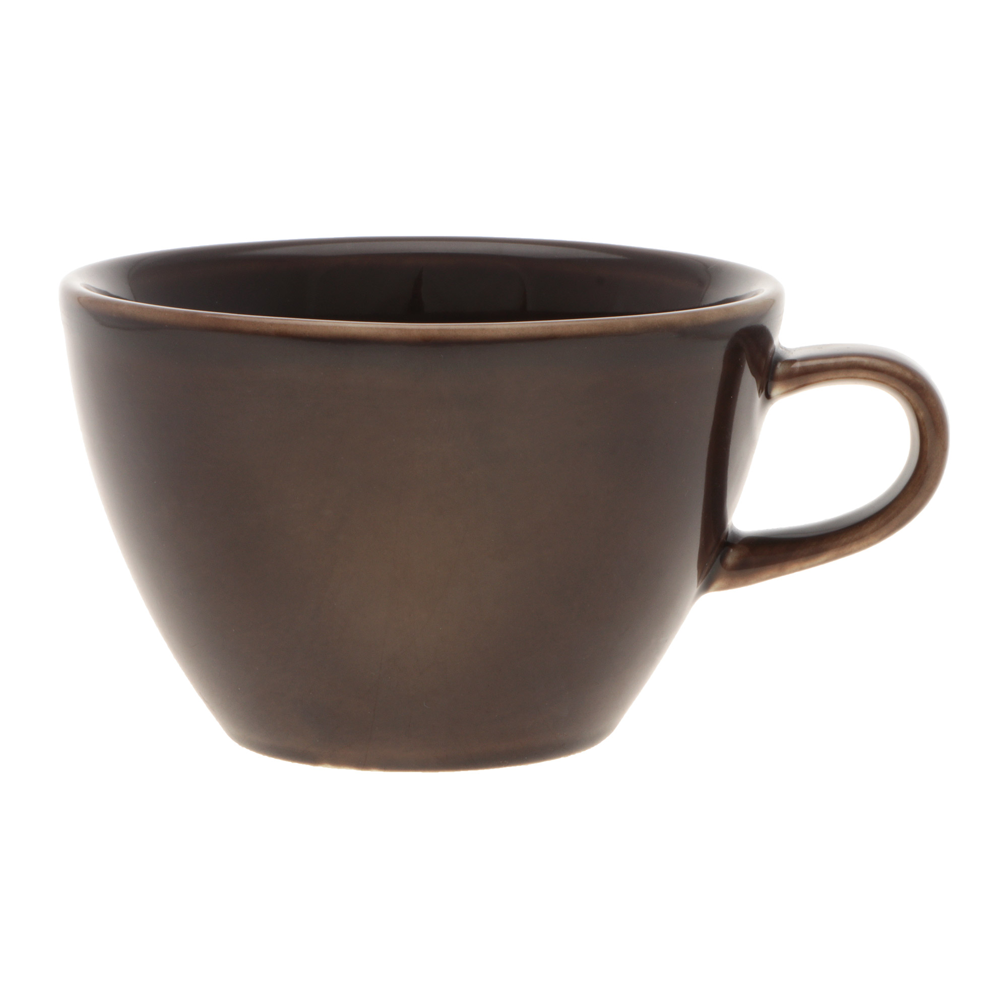 Чашка кофейная Башкирский фарфор Профи 210 мл коричневый