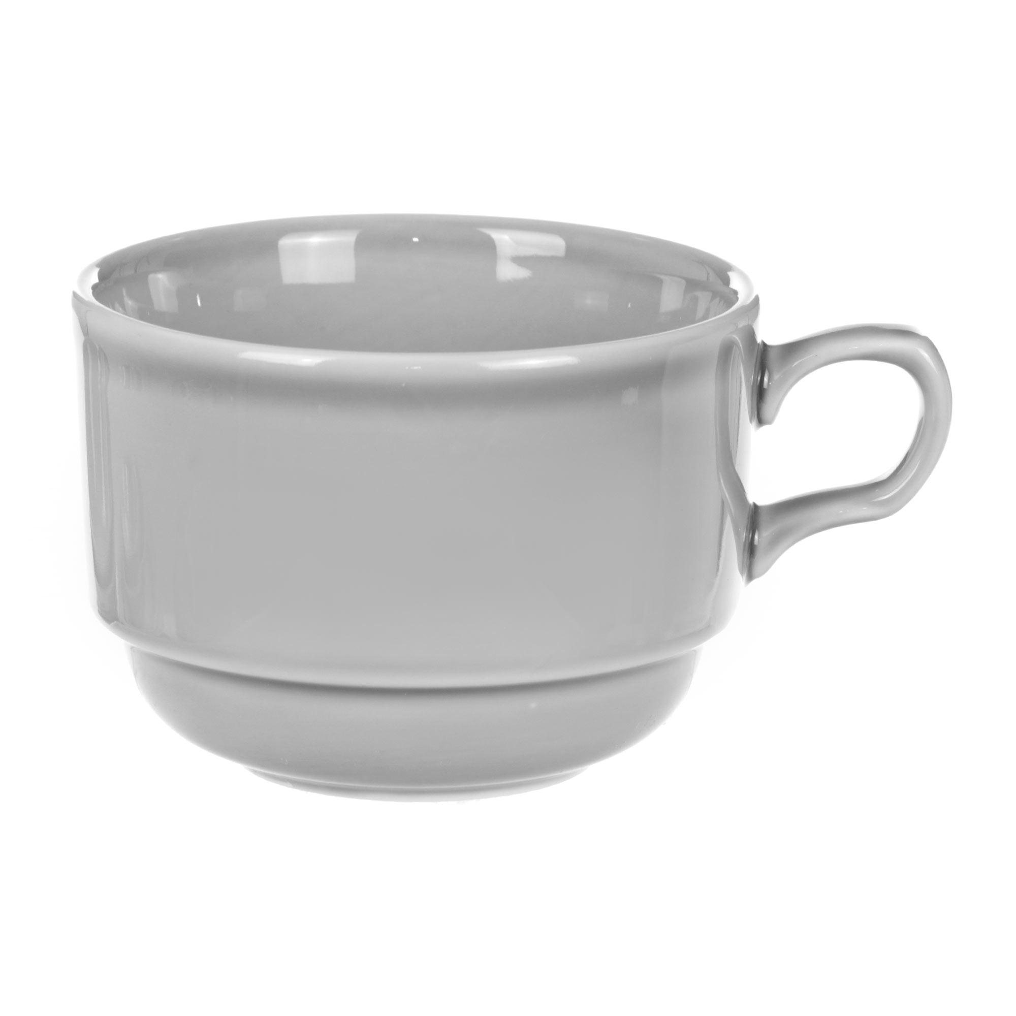 Чашка чайная Башкирский фарфор Браво 250 мл серая