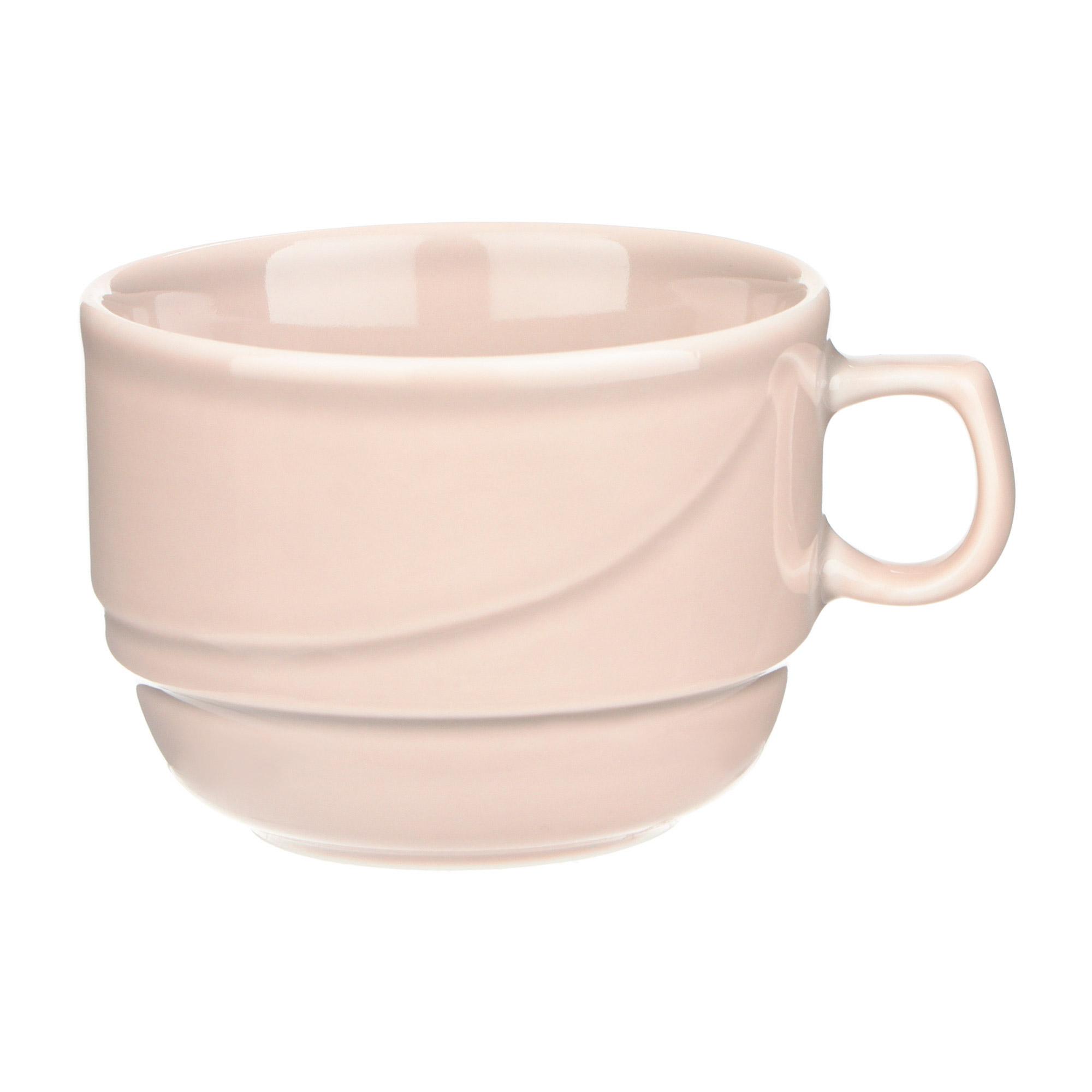Чашка чайная Башкирский фарфор Принц 190 мл розовый