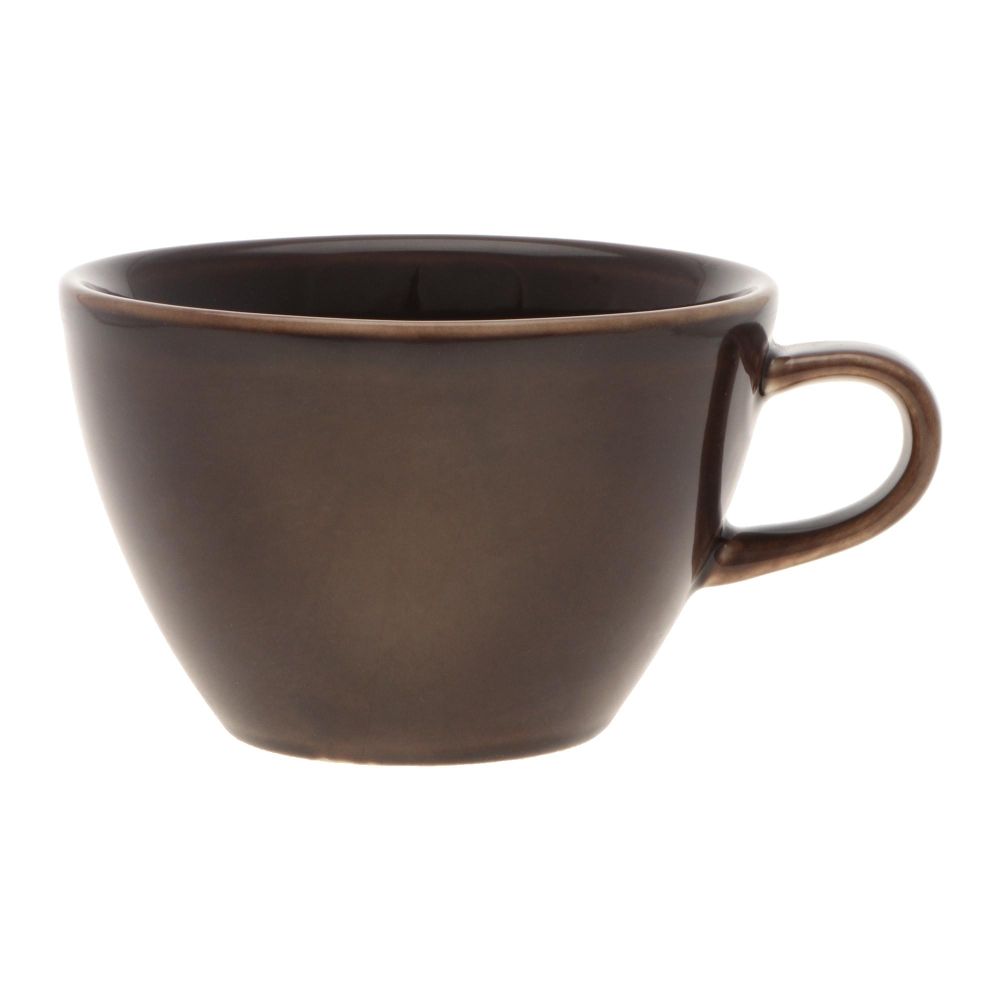 Чашка кофейная Башкирский фарфор Профи 320 мл коричневый