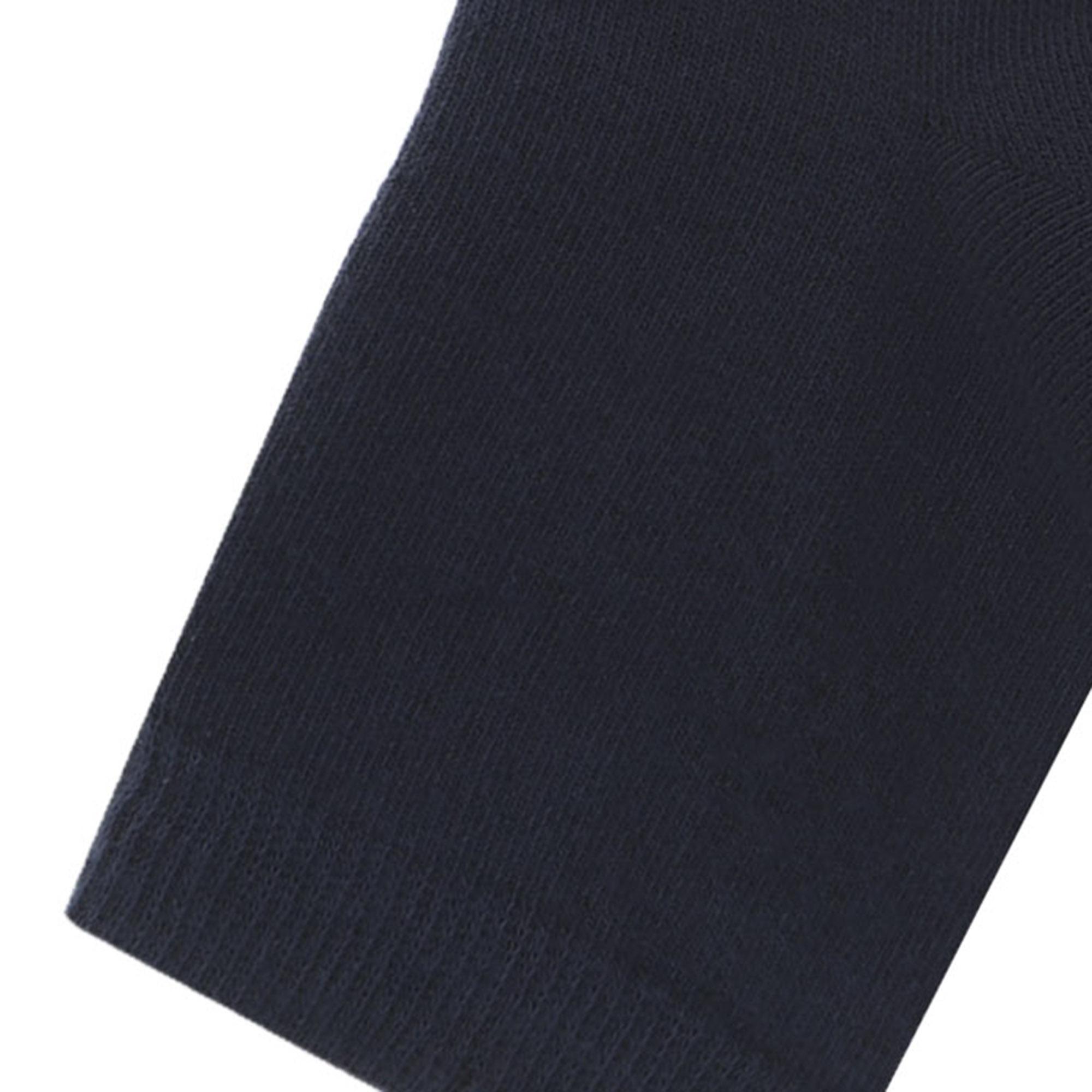 Носки женские однотонные Lucky Socks синие 1 пара 21-23