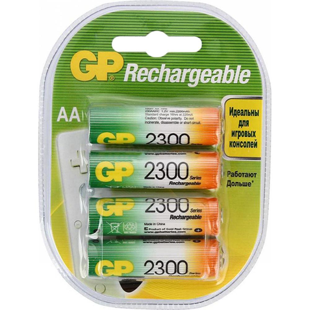Аккумуляторные батарейки GP 230AAHC-2DECRC4, 4 шт