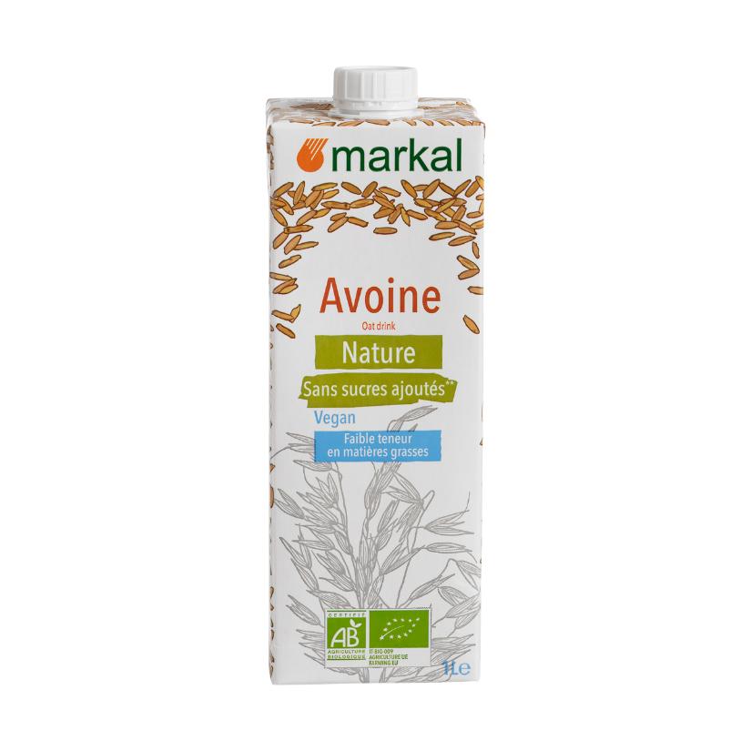 Напиток овсяный Markal 1 л овсяный напиток ne moloko ванильный десерт 250мл