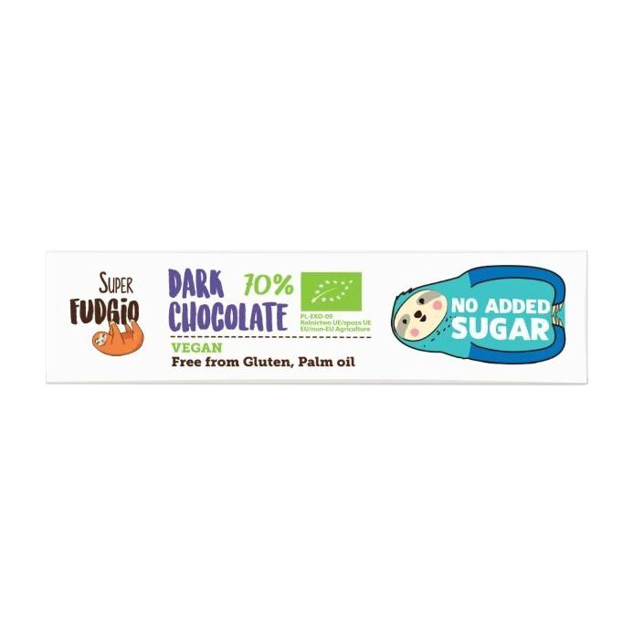 Шоколад темный Super Fudgio без сахара 40 г фото
