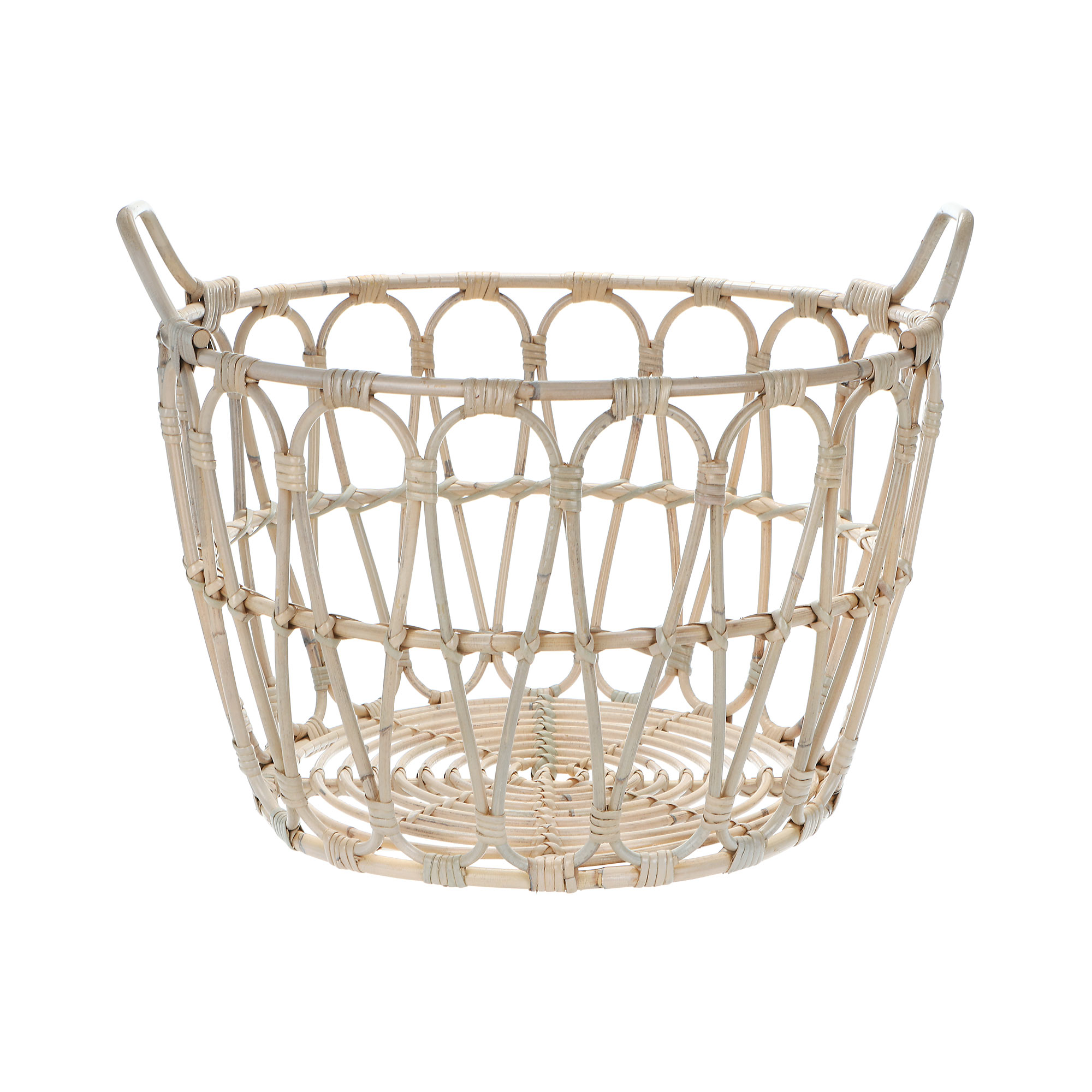 Корзина для белья Rattan grand mexico wash white фото