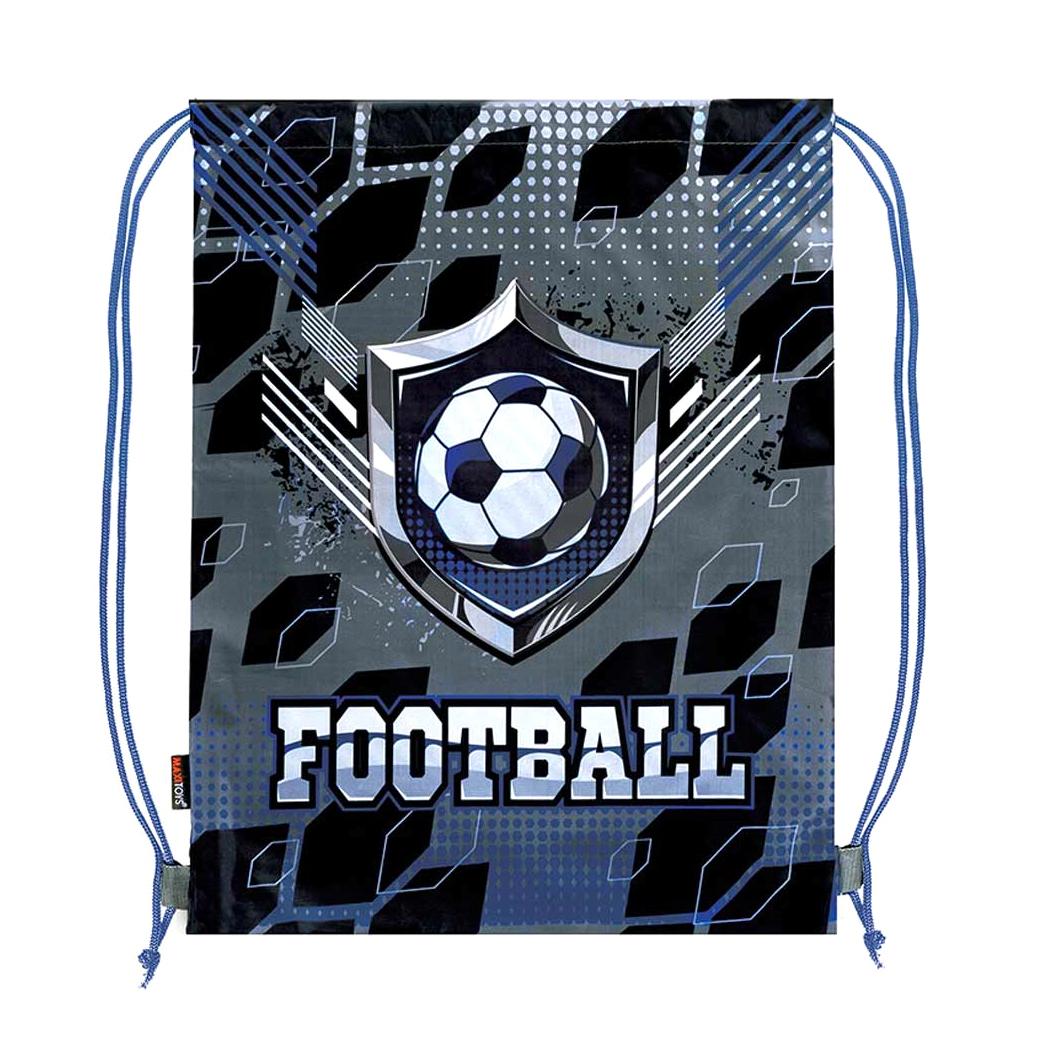 Мешок для обуви Maxitoys  Супер Футбол 46x36 см