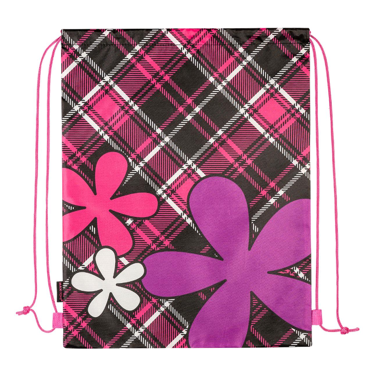 Мешок для Обуви Maxitoys Цветы и сердечки 46x36 см